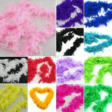 2M Feather Boa Hen Fluffy Craft Dressup Night Wedding Party Dress Boa 13 Colors