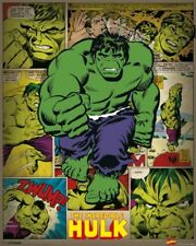 New Marvel Comics Giant Green Hero! The Incredible Hulk Mini Poster