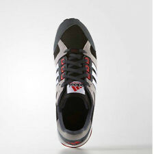 Women Adidas S79126 EQT Running cushion casual shoes black white red sneakers