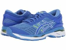ASICS GEL KAYANO 24 BLUE WHITE WOMENS RUNNING SHOES  ** WORLDWIDE SHIPPING