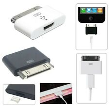 8 pin Female to 30 pin Male Adapter Converter For iPhone 4/4s iPod 4G iPad 2 3