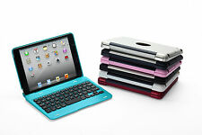 Foldable Slim Wireless Bluetooth Keyboard Cases Cover Stand For iPad 2 3 4 Mini