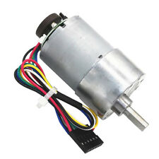 1pc DC 24V 12~1600RPM Micro Speed Reduction Gear Motor Replacement Aluminum