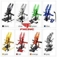 For Honda GROM MSX125 2012 2013 2014 2015 Racing Rear Sets Rearset Foot Pegs