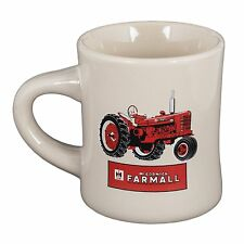 McCormick Farmall White Coffee Diner Mug with Red Tractor Cup