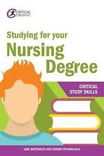 Studying for Your Nursing Degree by Jane Bottomley Paperback Book