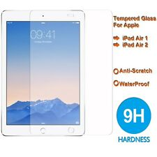 4X 2X 1X Tempered Glass Scratch Resist Screen Protector For Apple iPad Air 1 2