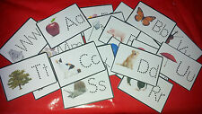 LEARN TO WRITE LETTERS FLASH CARDS - ALPHABET - FIRST LEARNING WRITING RESOURCE