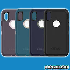 Genuine OtterBox Defender case cover iPhone X heavy duty tough belt clip NEW