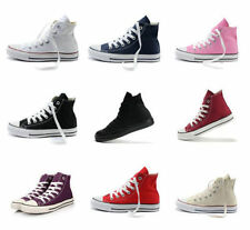 Fashion Men Casual Canvas Sneakers Flat Heel Lace up High Top Shoes Ankle Boots
