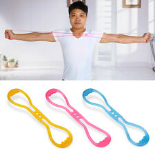 Yoga Resistance Tubes Resistance Bands Fitness Exercise Tube Rope Set 8 Shape DY
