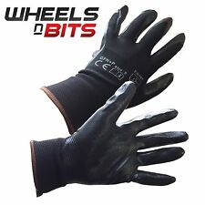 Nitrile Foam Coated Precision Protective Safety Work Gloves Multi Purpose DIY Bu