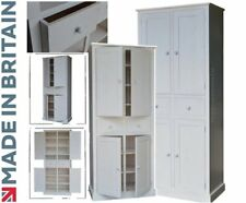 Solid Wood Cupboard, 7ft x 3ft Larder, Pantry, Kitchen, Utility Storage Cabinet