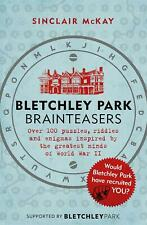Bletchley Park Brainteasers by Sinclair Mckay Paperback Book