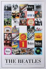 New Album Cover Montage The Beatles Poster