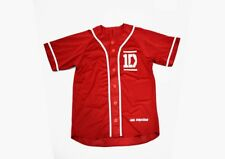 Jersey Baseball Uniform T-shirt Shirt 1D One Direction Louis Liam Harry Zayn New