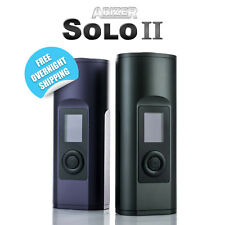 Arizer Solo 2 Carbon Black Mystic Blue Portable Free Overnight Shipping