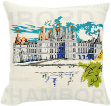 Chambord Pop French Tapestry Cushion Pillow Cover - 18 x 18 - NEW