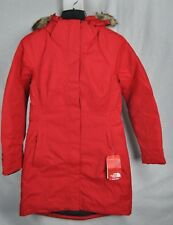 NEW THE NORTH FACE ARCTIC PARKA RED WOMENS JACKET DOWN S-XL