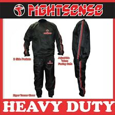 FS Heavy Duty Sweat Sauna Suit Gym Training Track Suit Unisex Slimming Red