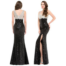 MERMAID Sequins Long Formal Evening Dresses Celebrity Celebrity Party Prom Gown