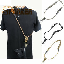 Spanker 1000D CQB Quick Release Single Point Bungee Rifle Gun Sling Hunting