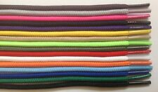 """Round Athletic Shoelaces 3/16"""" Width in 36"""" 45"""" 54"""" Lengths 14 Colors to Choose"""