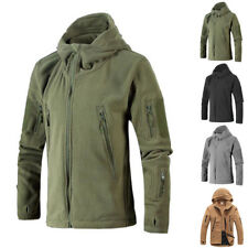 New Men Hunting Outdoor Polar Fleece Military Army Softshell Tactical Hot Jacket