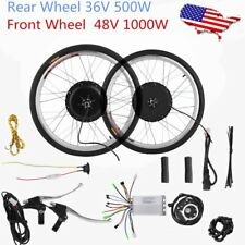 36/48V Electric Bicycle E-Bike Front Rear Wheel Conversion Kit Cycling Motor SK