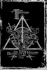 Harry Potter Deathly Hallows Graphic Poster 61x91.5cm