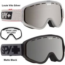 NEW Spy T3 Woot Silver Mirror Mens Ski Snowboard Goggles + lens Msrp$65