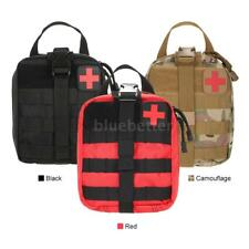 Polyester Medic Utility First Aid Tactical MOLLE Pouch First Aid Supplies E3Y2