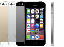  Apple iPhone 5S -16GB 32GB 64GB GSM - AT&T - LTE Smartphone - Gold Gray Silver
