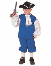 Colonial Boy Historical Pioneer Olden Day Victorian Book Week Boys Costume