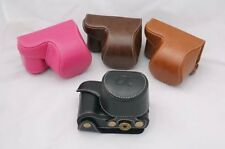 PU Leather Camera Case Cover Bag For Sony A5000 A5100 NEX 3N NEX-3N 16-50mm Lens