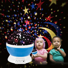 Hot LED Rotation Night Sky Projector Starry Night Light Star Lamp Romantic Fairy