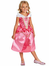 Princess Aurora Sleeping Beauty Sparkle Disney Story Book Week Girls Costume