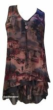 PRETTY ANGEL SIZE S, TWO PIECE DRESS / TOP IN NAVY / BROWN 69913 BL NWT