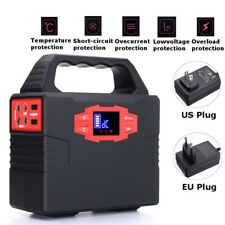 150Wh 100W Portable Solar Generator Power Supply Energy Storage Lithium ion USB