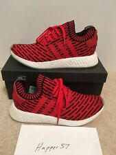 Adidas BB2910 Originals NMD R2 PK Primeknit Running Shoes Red