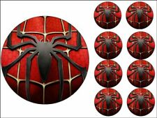 "MARVEL CAKE TOPPERS 7"" ROUND + 2"" CUPCAKE TOPPERS X8 EDIBLE PHOTO ICING ITEM702"