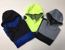 Xersion Boys' Performance Pull over Fleece Hoodie Mesh Lined S-M-L-XL-XXL NWT