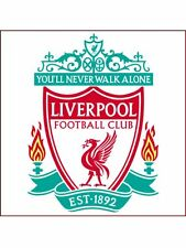 "8"" SQUARE LIVERPOOL CAKE TOPPER PERSONALIZED EDIBLE PHOTO ICING SHEET ITEM 817"