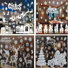 Christmas Wall Art Removable Home Window Stickers Decal Christmas Party Decor