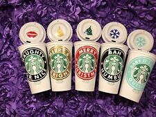 """""""Peppermint Everything"""" Personalized Starbucks Cup, Free Ship&Quantity Discounts"""