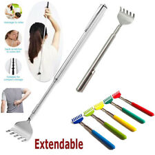 Stainless Steel Back Scratcher Telescopic Extendable Claw Massager Extender