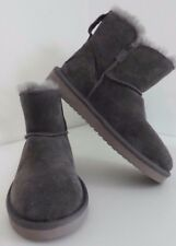 KOOLABURRA by UGG Classic Mini Ankle Grey Ankle BOOTS * 5 6 7 * new suede shoes