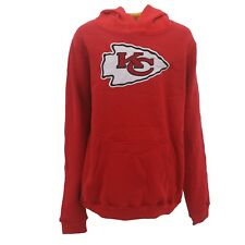 Kids Youth Size Kansas City Chiefs NFL Football Hooded Sweatshirt New With Tags