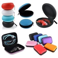 Waterproof Carrying Hard Case Box Headset Earphone Earbud Storage Pouch Bag