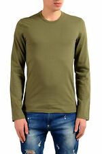 Dolce & Gabbana Green Long Sleeve Crewneck Men's T-Shirt Sz S M L XL